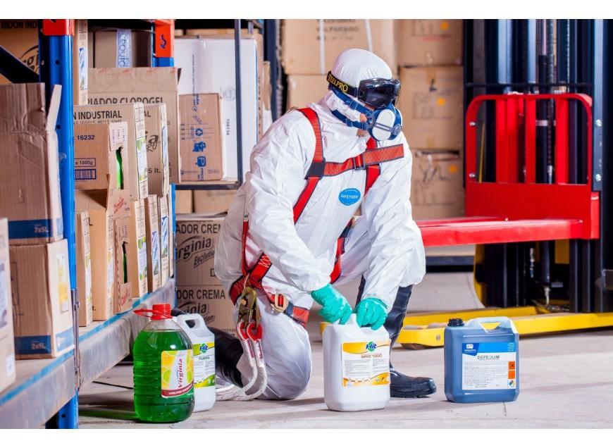 Toutes les précautions à prendre pour le stockage de produits chimiques
